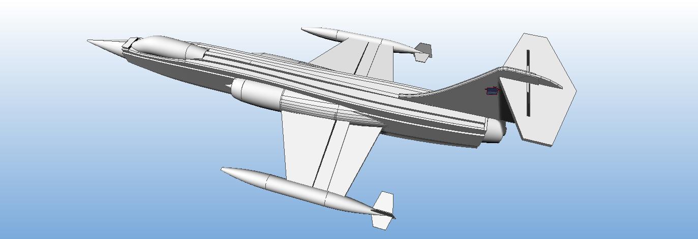 F-104 Starfighter plans